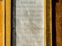 Epigrafe Torre civica Ottoboni